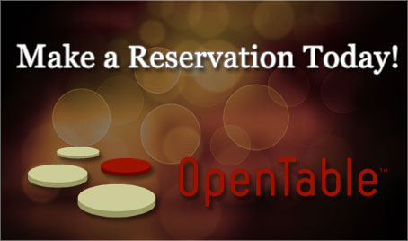 make a reservation on open table